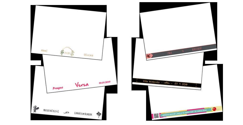 Ukázka designu fotografii na web